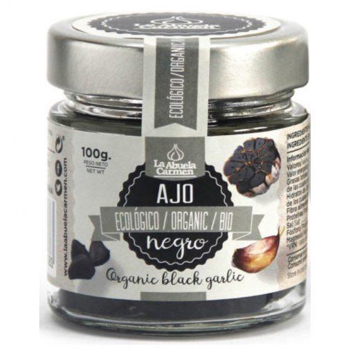 produkt czarny czosnek ząbki 100 g